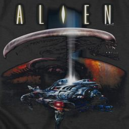 Alien Ship Shirts