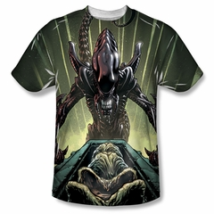 Alien Shirt Egg Collection Sublimation Shirt