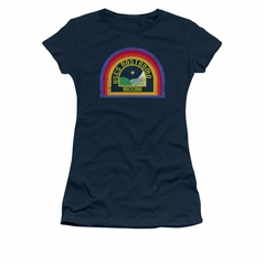 Alien Shirt Juniors Nostromo Navy T-Shirt