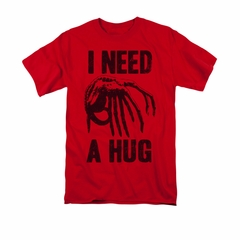 Alien Shirt Need A Hug Red T-Shirt