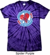 All You Need is Love Spider Tie Dye Shirt