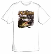 Alligator T-shirt - Alligator Attack Predator Crocodile Adult Tee