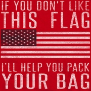 American Flag Pack Your Bag Shirts