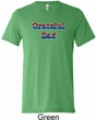 American Grateful Dad Mens Tri Blend Crewneck Shirt