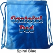 American Grateful Dad Tie Dye Bag