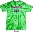 American Grateful Dad Twist Tie Dye Shirt