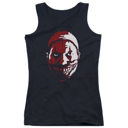 American Horror Story Juniors Tank Top The Clown Black Tanktop