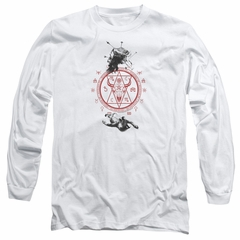 American Horror Story Long Sleeve Shirt As Above So Below White Tee T-Shirt
