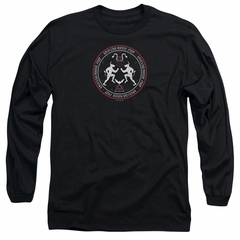 American Horror Story Long Sleeve Shirt Coven Minotaur Sigil Black Tee T-Shirt