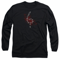 American Horror Story Long Sleeve Shirt Teeth Black Tee T-Shirt