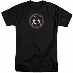 American Horror Story Shirt Coven Minotaur Sigil Black Tall T-Shirt