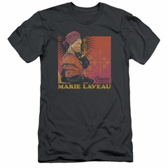 American Horror Story Slim Fit Shirt Marie Laveau Charcoal T-Shirt