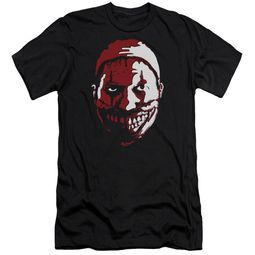 American Horror Story Slim Fit Shirt The Clown Black T-Shirt