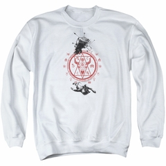 American Horror Story Sweatshirt As Above So Below Adult White Sweat Shirt