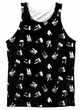 American Horror Story Tank Top Chatter Box Sublimation Tanktop Front/Back Print