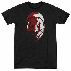 American Horror Story The Clown Black Ringer Shirt