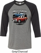 American Made Dodge Dart Mens Raglan Shirt