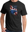 American Pride Eagle USA Shirt - Patriotic Black Tee