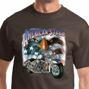 American Steel Mens Biker Shirts