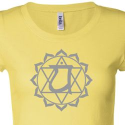 Anahata Heart Chakra Ladies Yoga T-shirts