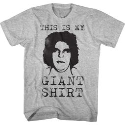 Andre The Giant Shirt Giant Athletic Heather T-Shirt