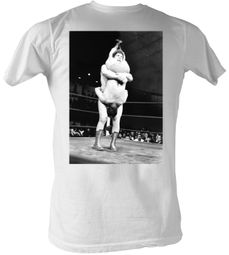 Andre The Giant T-Shirt – Shake Down Wrestling White Adult Tee Shirt