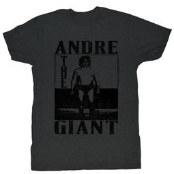 Andre The Giant T-Shirt Wrestling The Giant Black Adult Tee Shirt