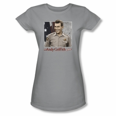 Andy Griffith All American Juniors Tee T-Shirt
