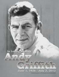 Andy Griffith Show In Memory Of Shirts