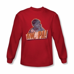Andy Griffith Show Shirt Aw Pa Long Sleeve Tee T-Shirt