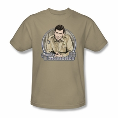Andy Griffith Show Shirt Memories Adult Tee T-Shirt