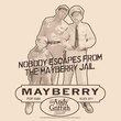 Andy Griffith Show T-shirt - MAYBERRY JAIL Adult Cream Tee