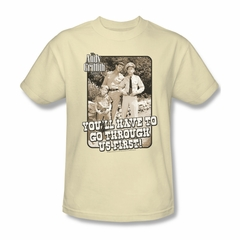 Andy Griffith Through Us Tee T-Shirt