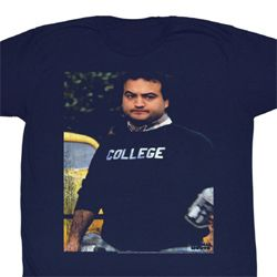 Animal House Shirt Delta House 2 Adult Navy Tee T-Shirt