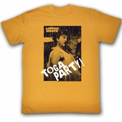 Animal House Shirt Toga Party Adult Orange Tee T-Shirt