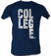 Animal House T-Shirt – College Scrabble Adult Navy Blue Tee Shirt