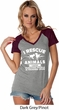 Animal Rescue Ladies Contrast V-Neck Shirt