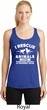 Animal Rescue Ladies Dry Wicking Racerback Tank Top