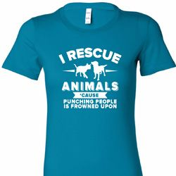 Animal Rescue Ladies Shirts