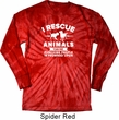 Animal Rescue Long Sleeve Tie Dye Shirt