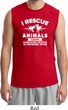 Animal Rescue Mens Muscle Shirt