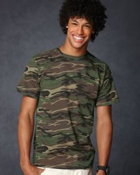 Anvil Shirt Heavyweight Cotton Camo T shirt