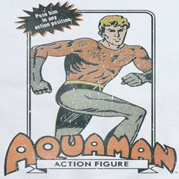 Aquaman Action Figure Shirts