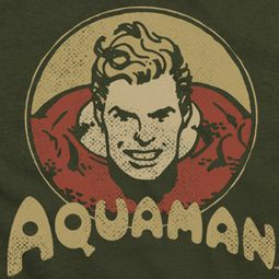 Aquaman Aqua Circle Shirts