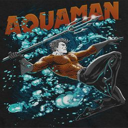 Aquaman Bubbles Shirts