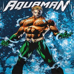 Aquaman Bubbles Sublimation Shirts