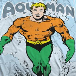 Aquaman Classic Look Sublimation Shirts