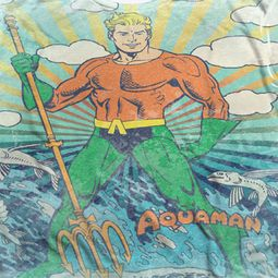 Aquaman Classic Pose Sublimation Shirts