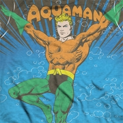Aquaman Classic Under Water Sublimation Shirts