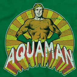 Aquaman Hands On Hips Shirts